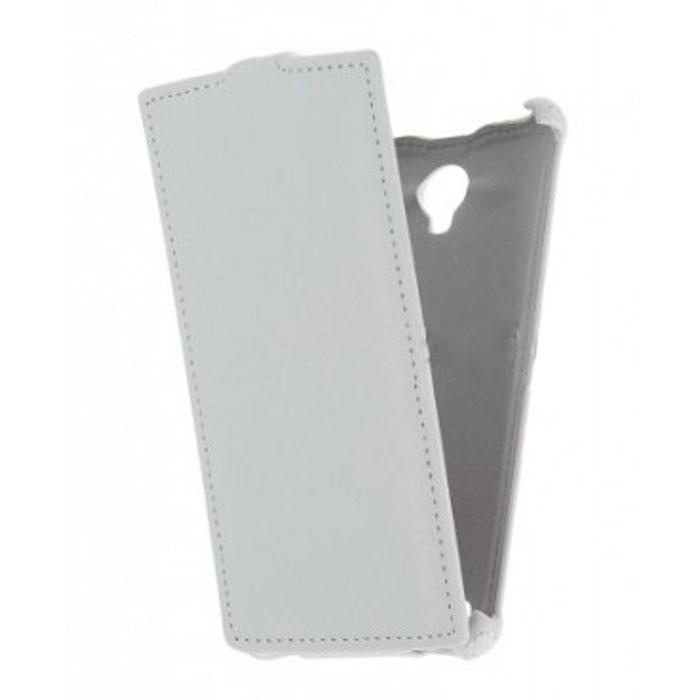 Чехол Gecko Flip для Philips Xenium S337, белый