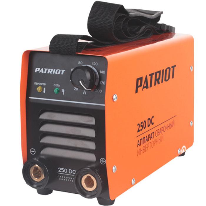 Инвертор сварочный PATRIOT 250 DС Кейс