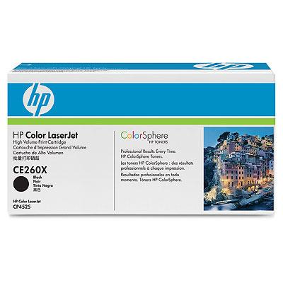 Картридж HP CE260X Black увеличенный ресурс