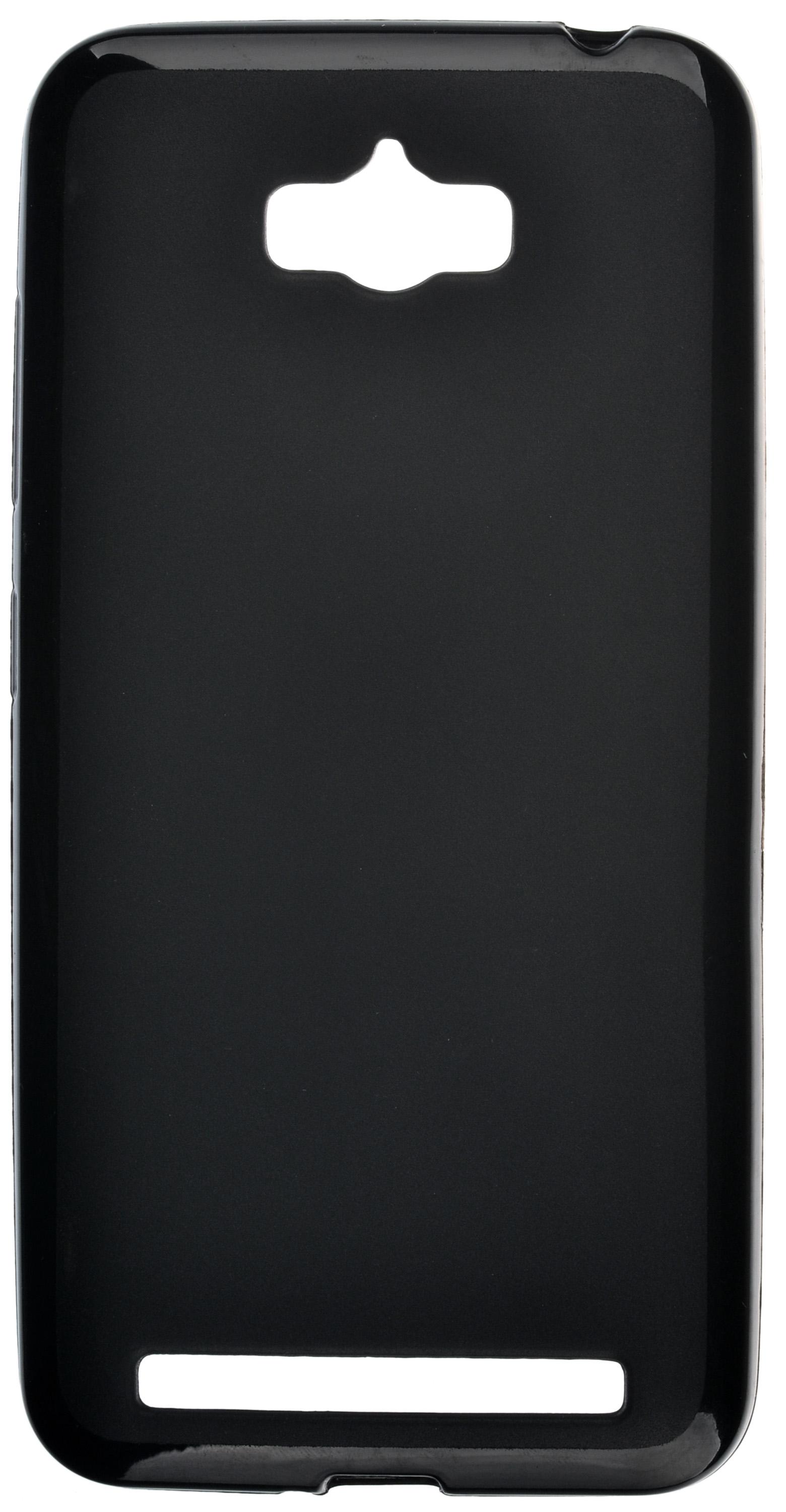 Чехол skinBOX shield silicone для Asus ZenFone Max ZC550KL черный