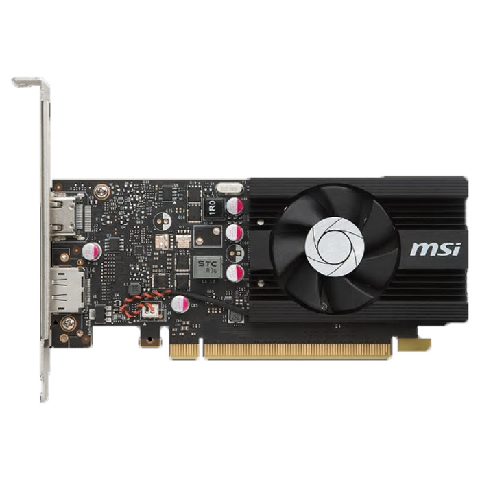Видеокарта PCI-E MSI GeForce GT 1030 2048Mb, DDR5 ( GT 1030 2G LP OC ) Ret