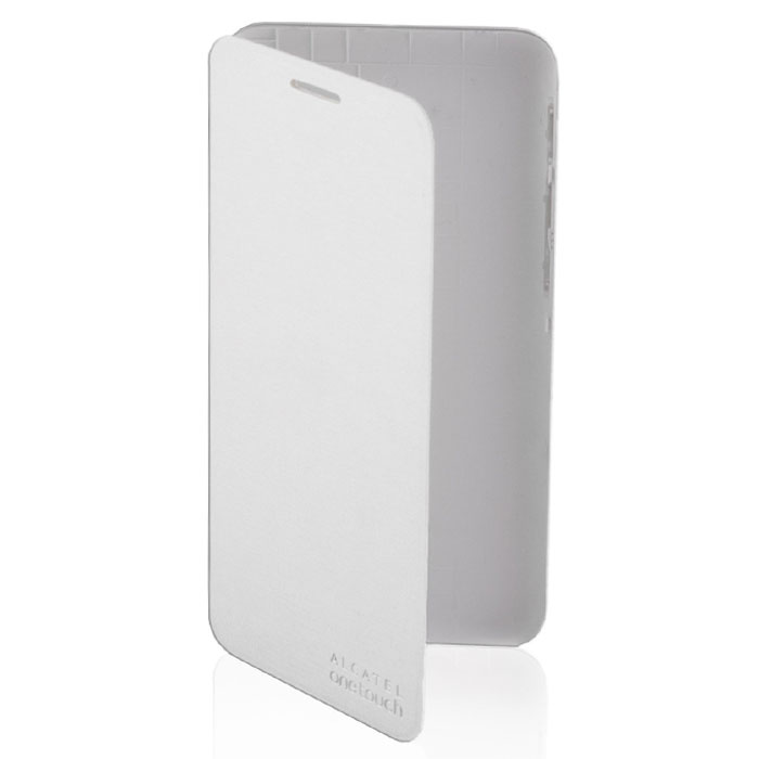 Чехол Alcatel FC5015 Case-book для Alcatel One Touch 5015D Pixi 3(5) Dual sim, Soft silver