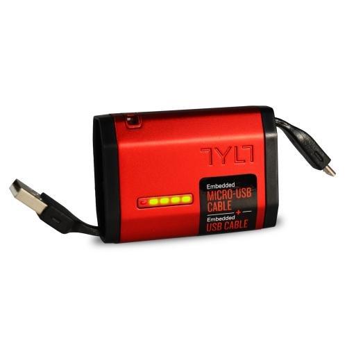 Внешний аккумулятор универсальный TYLT MV9ZUMORD-T 1500mAh Micro USB 1A красный