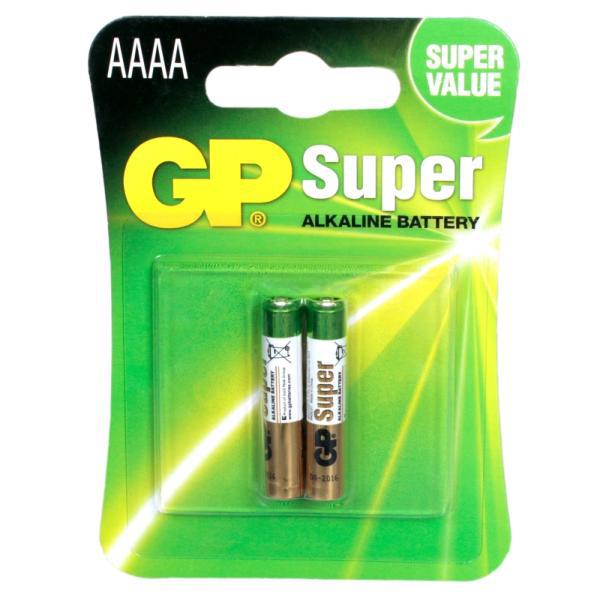 Батарейки GP 25A-2UE2 Alkaline AAAA 2шт