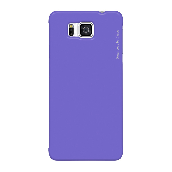 Чехол Deppa Air Case для Samsung Galaxy Alpha G850, фиолетовый
