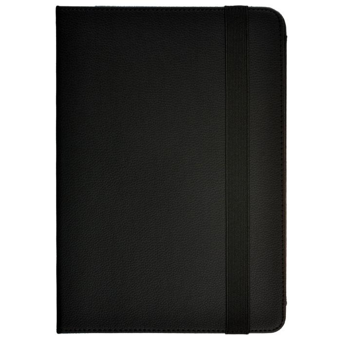 Универсальный чехол 10″ SkinBox ProShield Universal, черный, металлические крепления