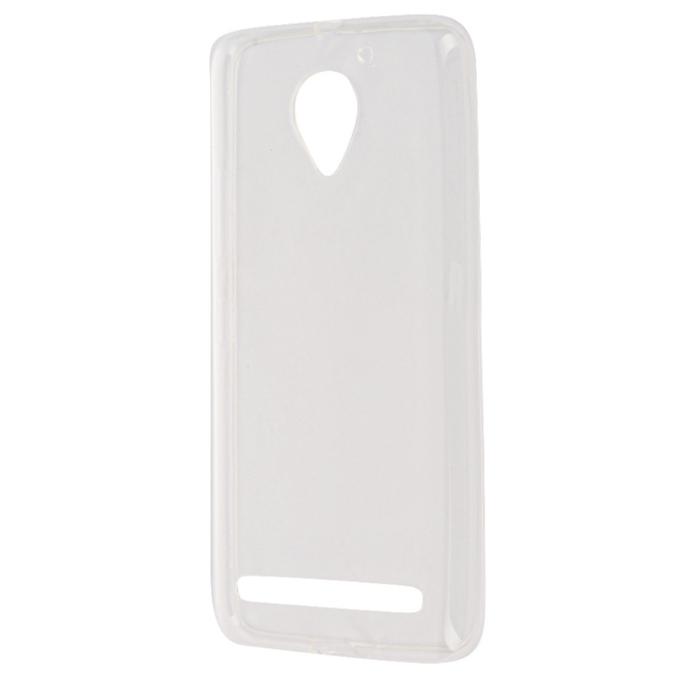 Чехол SkinBox slim silicone case для Lenovo Vibe C2 (K10A40) прозрачный