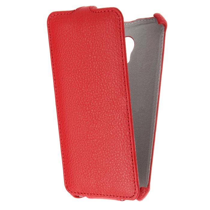 Чехол Gecko Flip для Meizu M5, красный
