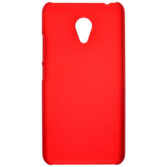 Чехол SkinBox 4People для Meizu M3s Mini, красный