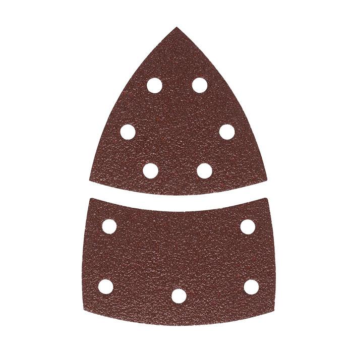Набор шлифлистов по дереву Bosch 102×62/93мм 80 зерно 10шт 2609256A63