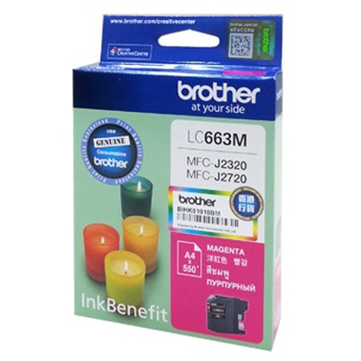 Картридж Brother LC-663M Magenta