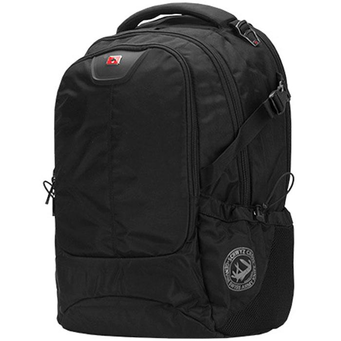 Рюкзак для ноутбука 16″ Continent BP-307, черный, нейлоновый