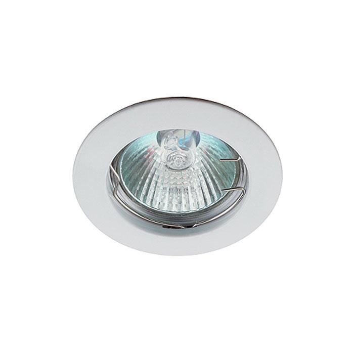 Светильник ЭРА C0043653 KL1 WH MR16 12V/220V 50W белый, литой