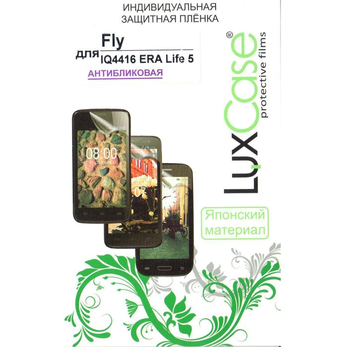 Защитная плёнка для Fly IQ4416 Era Life 5 LuxCase антибликовая