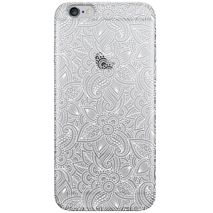 Чехол Deppa Art Case с пленкой для iPhone 6 / iPhone 6s, Boho, Кружево светлое