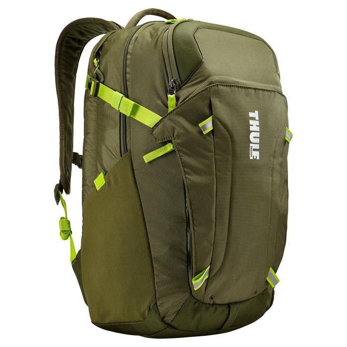Рюкзак 15.6″ THULE EnRoute 2 Blur, для Macbook Pro с отделением для iPad, ( TEBD-217GN ), ударозащищенный, зеленый