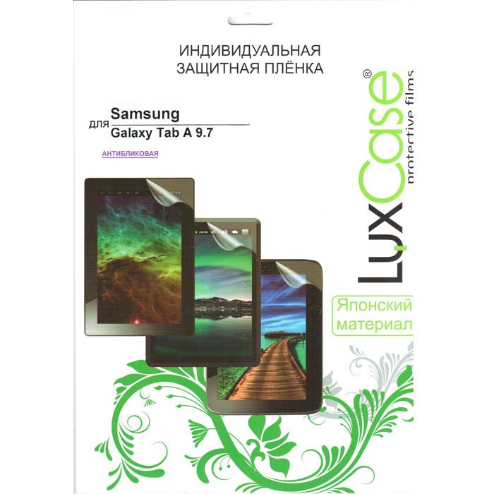 Защитная плёнка Luxcase для Samsung SM-T550\SM-T555 Galaxy Tab A 9.7, Антибликовая