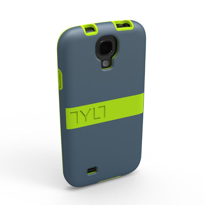 Чехол для Samsung i9500/i9505 Galaxy S IV TYLT Band GS4DPBNDL-T желтый/серый