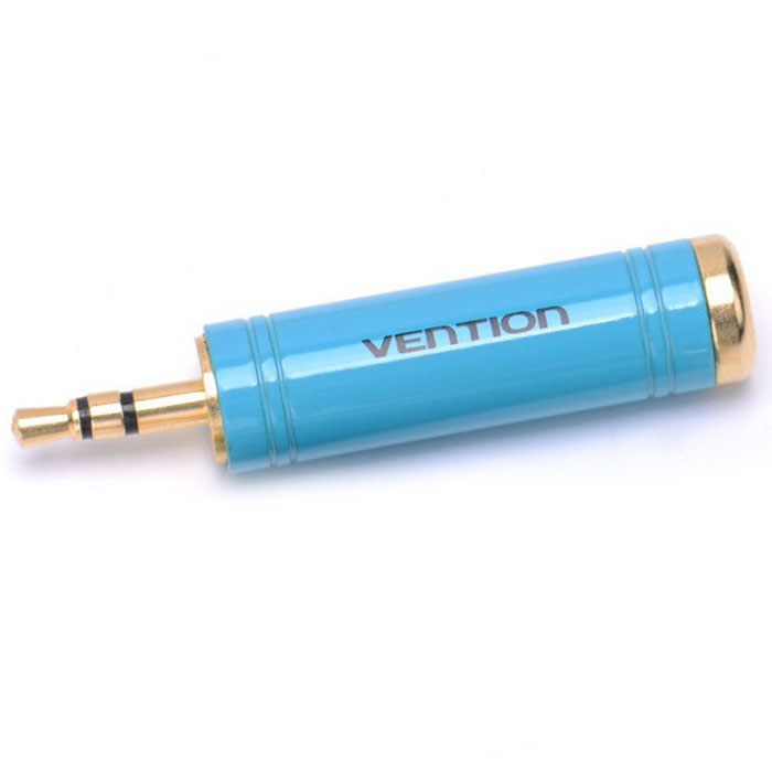 Переходник 6.3St.plug — 3.5St.jack Vention VAB-S04-L