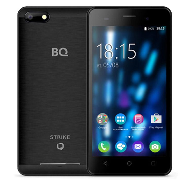 Смартфон BQ Mobile BQS-5020 Strike Black Matt