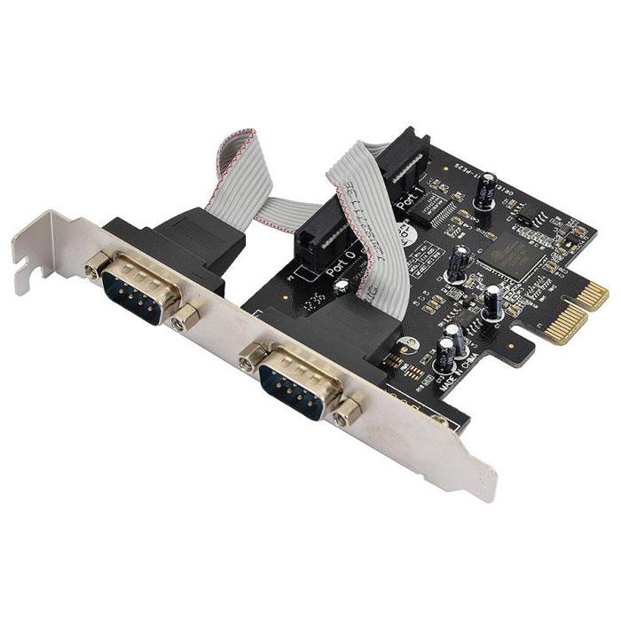 Контроллер PCI-E Orient XWT-PE2S ( XWT-PE2S ) 2xCOM, OXPCIe 952, oem