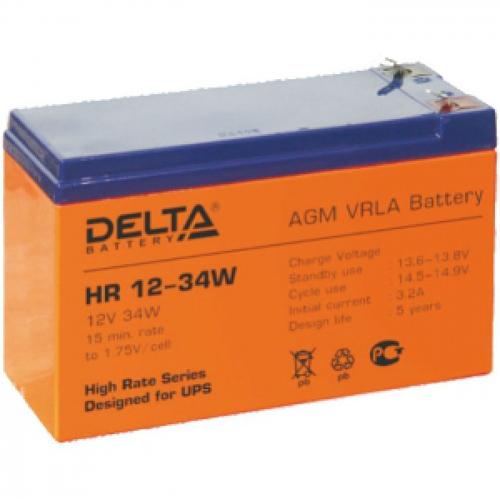 Батарея Delta HR 12-34W (12V 9Ah)