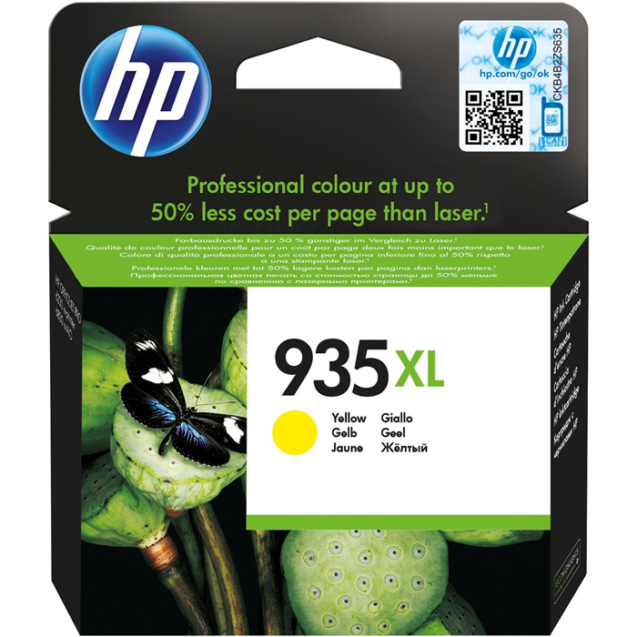 Картридж HP C2P26AE №935XL Yellow