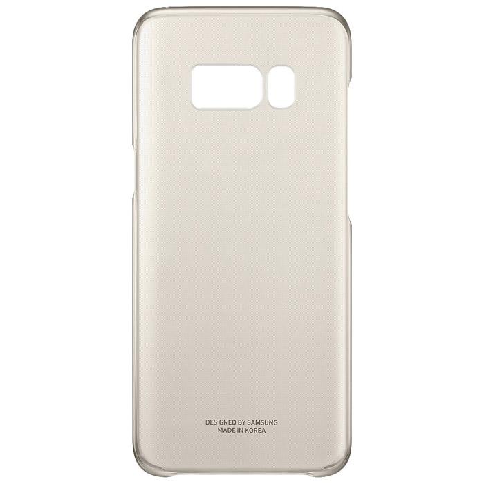 Чехол Samsung Clear Cover для Samsung Galaxy S8 SM-G950, золотистый