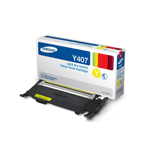 Картридж Samsung CLT-Y407S Yellow