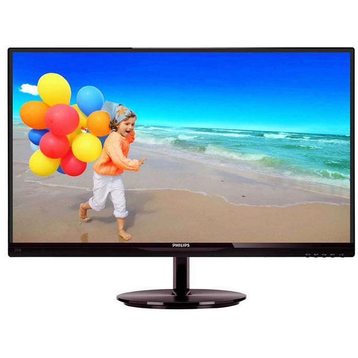 Монитор ЖК Philips 274E5QHSB 27″ IPS LED black VGA HDMI
