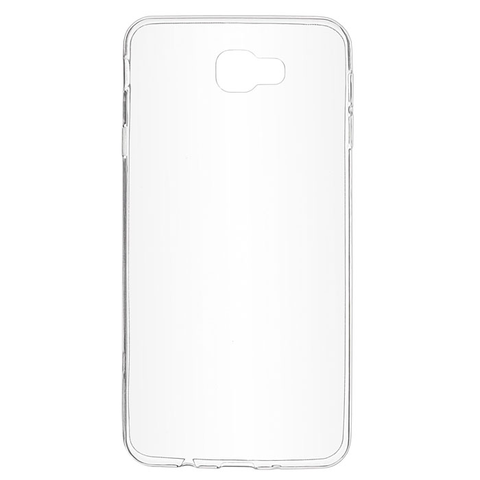 Чехол skinBOX 4People Slim Silicone для Samsung Galaxy J7 Prime SM-G610F/DS, прозрачный