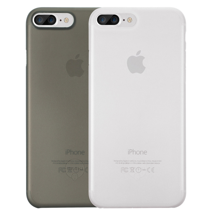 Чехол Ozaki O!coat 0.3 Jelly для iPhone 7 Plus, два чехла в наборе, прозрачный и черный
