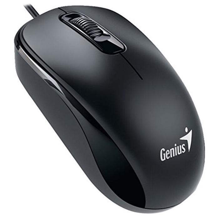 Мышь Genius DX-160 USB Black оптическая, проводная