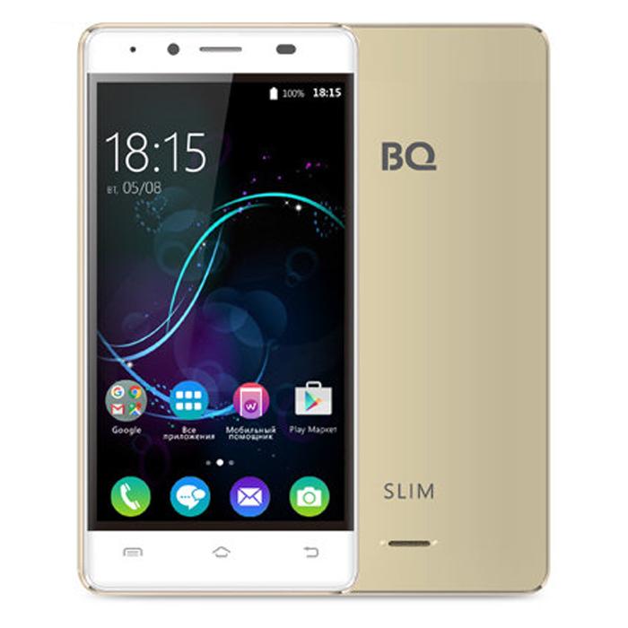 Смартфон BQ Mobile BQS-5060 Slim Gold