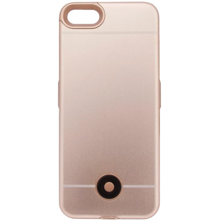 """Чехол со встроенной батареей 3800mA для iPhone 7 Liberty """"Backup Power"""" 4 золотистый"""