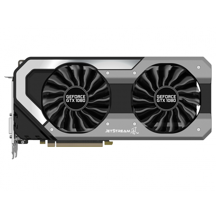 Видеокарта PCI-E Palit GeForce GTX 1080 8192Mb ( PA-GTX1080 OC Super Jetstream 8G ) GDDR5X Ret