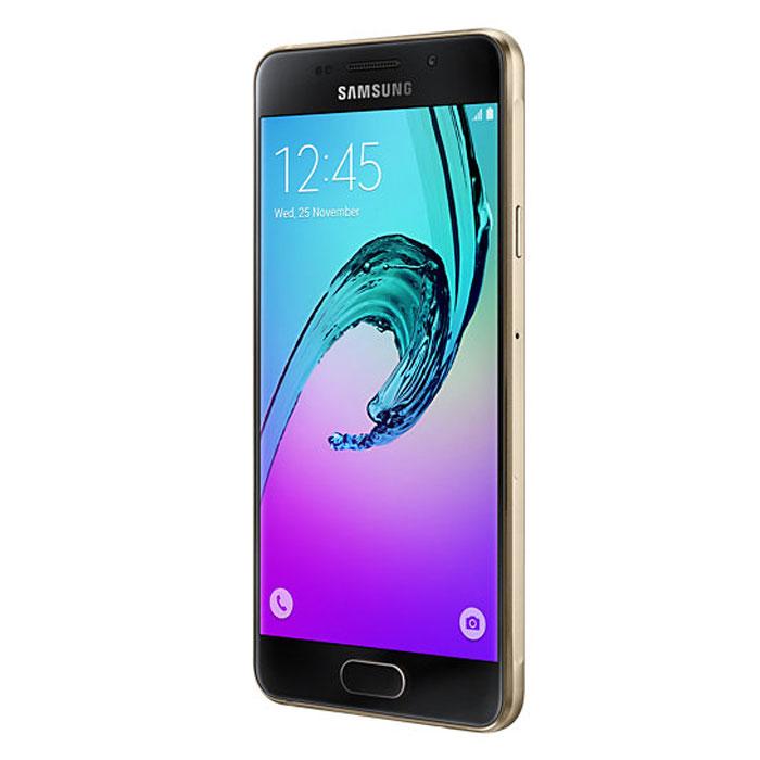 Смартфон Samsung Galaxy A3 SM-A310F Gold
