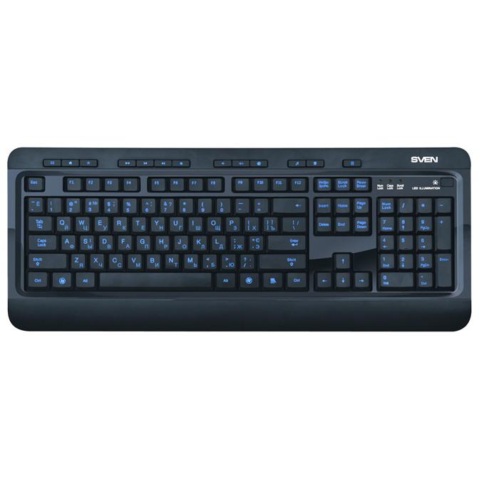 Клавиатура SVEN Comfort 7600 EL USB