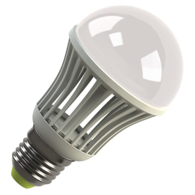 Светодиодная LED лампа ECOMIR E27 5.5W 220V 42920 желтый свет, матовая
