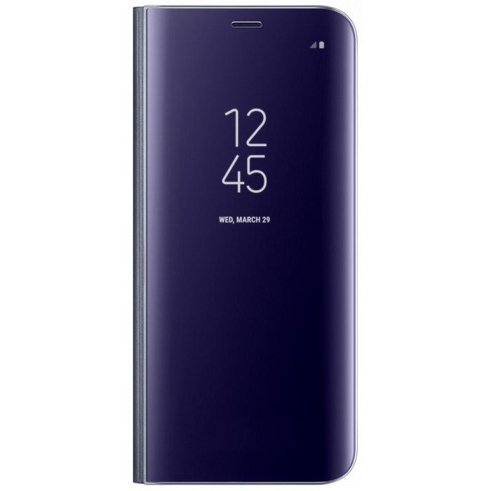 Чехол Samsung Clear View Standing Clear для Samsung Galaxy S8+ SM-G955, фиолетовый