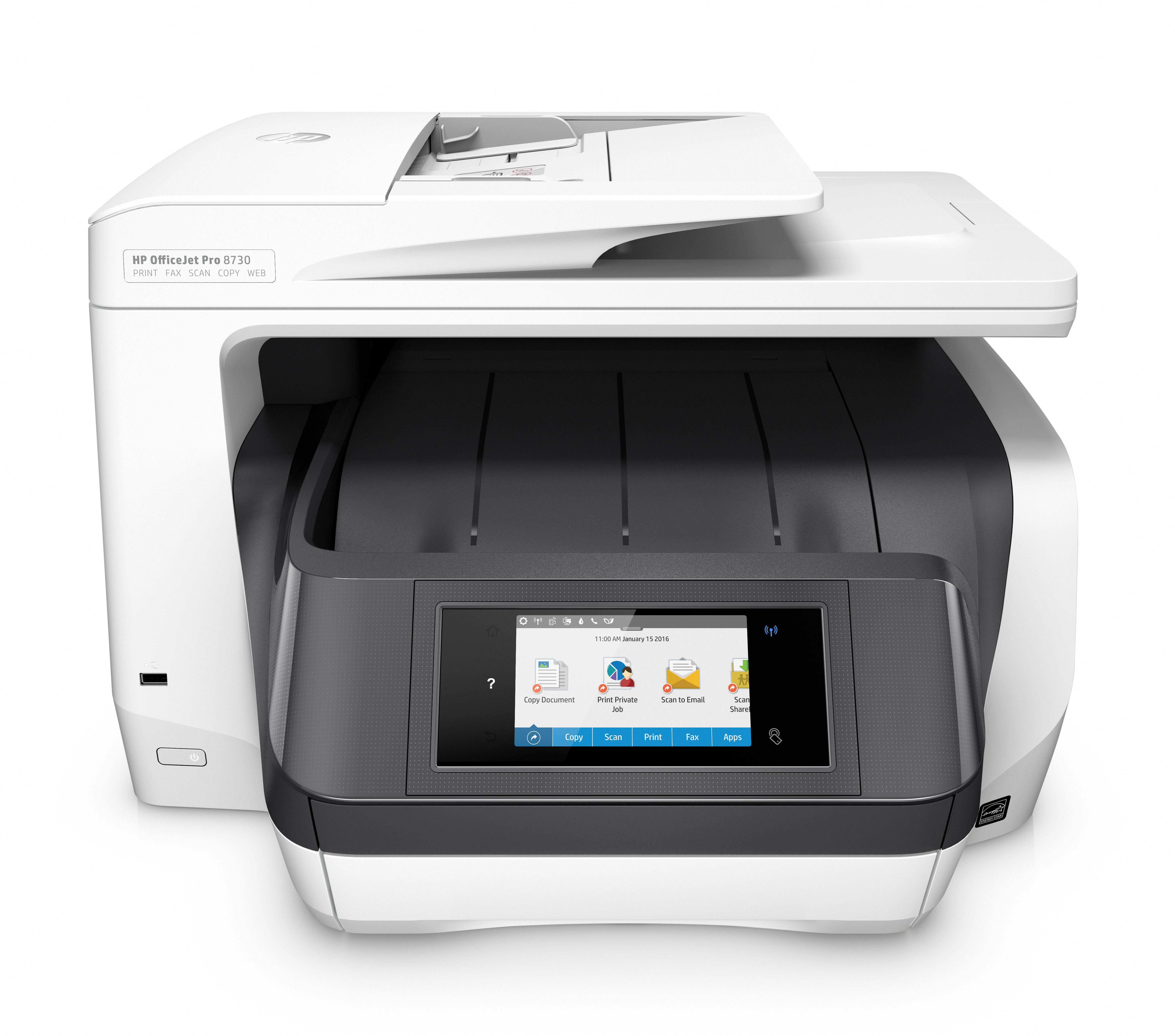 МФУ HP Officejet Pro 8730 D9L20A цветное струйное с Wi-Fi