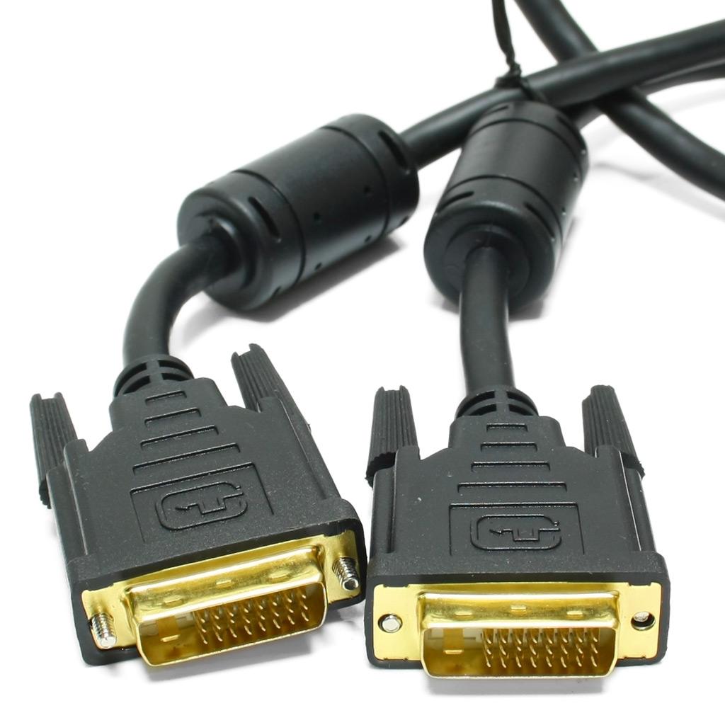 Кабель DVI-D plug-plug 5.0м <>