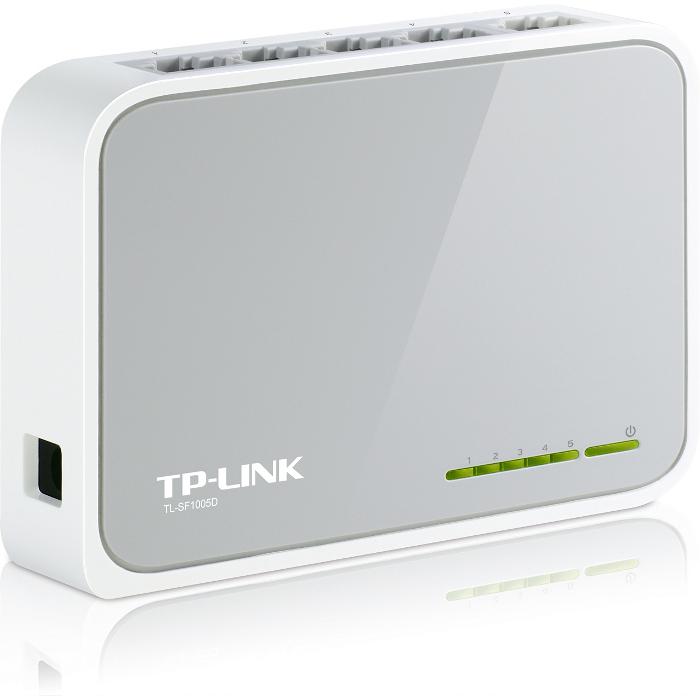 Коммутатор TP-Link TL-SF1005D 5 ports 10/100Mbps