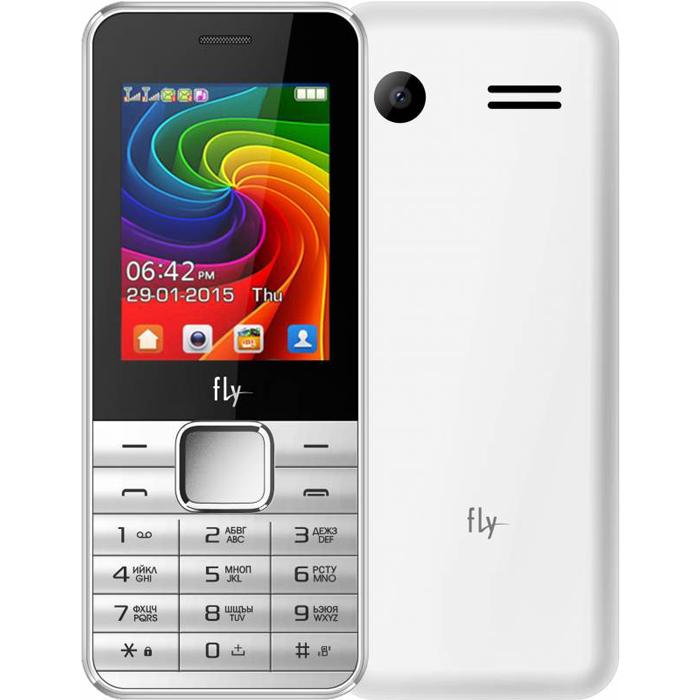 Сотовый телефон Fly FF246 White
