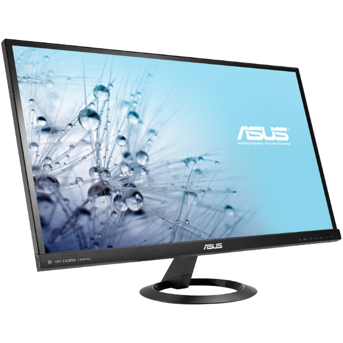 Монитор ЖК ASUS VX279Q 27″ AH-IPS black VGA HDMI DisplayPotr