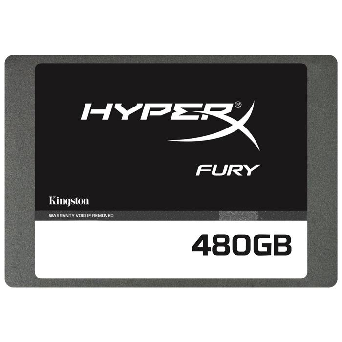 Накопитель 2.5″ SSD SATA3 480Гб Kingston HyperX Fury ( SHFS37A/480G )
