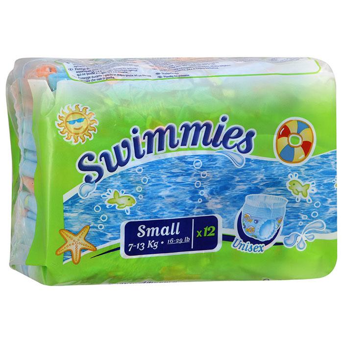 Helen Harper Детские трусики для плавания Swimmies Small (7-13 кг), 12 шт.