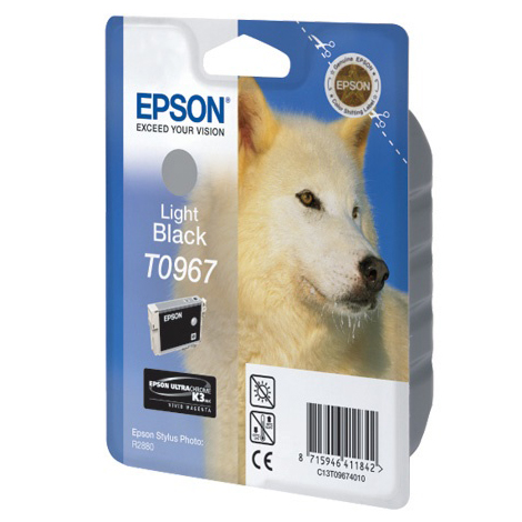 Картридж EPSON C13T09674010 Light Black для Stylus Photo R2880