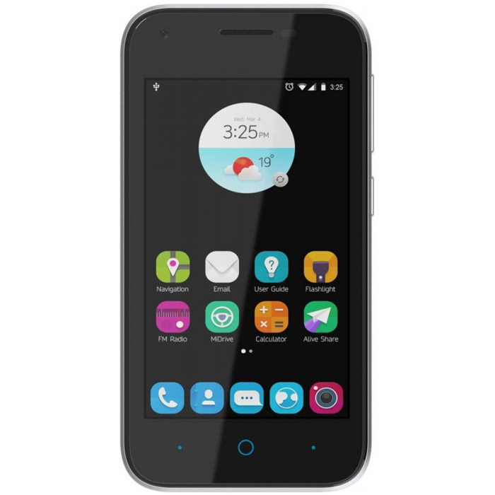 Смартфон ZTE Blade L110 черный