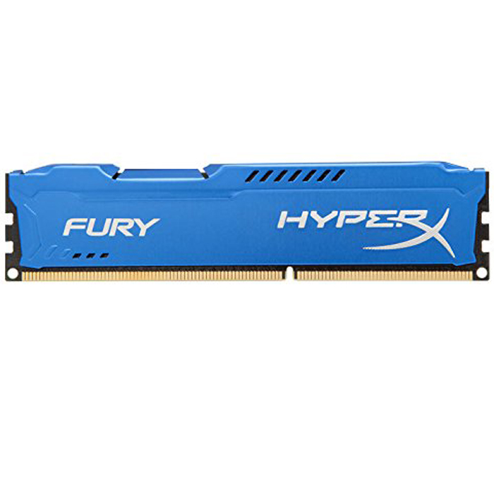 Модуль памяти DDR3 1866MHz 8Gb Kingston Hyper X Fury Blue Series ( HX318C10F/8 ) Retail